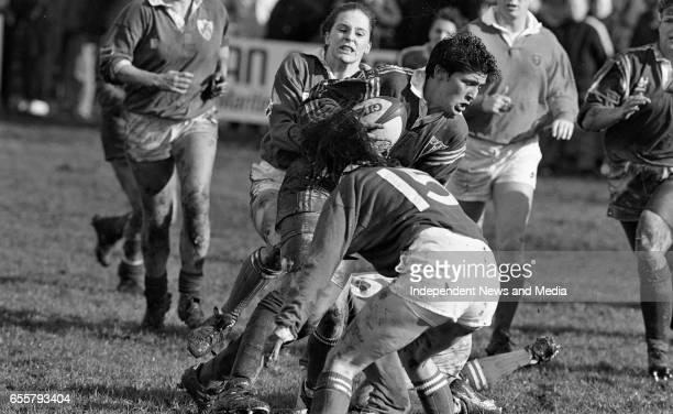 Ireland V France Womens International Rugby at Stradbrook Dublin
