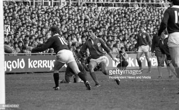 Ireland V Scotland in the Five Nations Championship at Lansdowne Road, Dublin, .