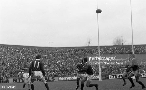 Ireland Vs Scotland in the then 5 Nations at Lansdowne Road, Dublin, .