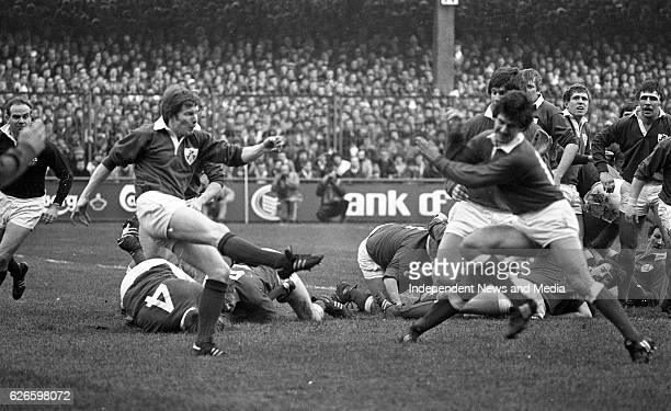 Ireland Vs Wales at Lansdowne Road, Dublin, .