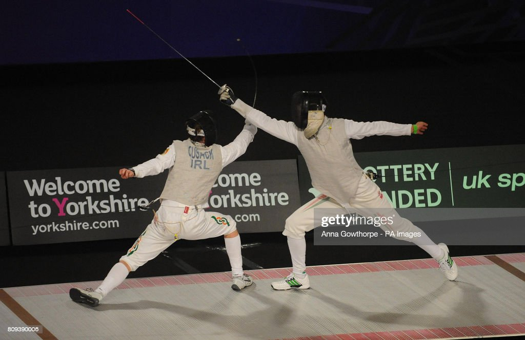 Fencing - European Fencing and European Wheelchair Fencing Championships - Day Two - English Institute of Sport : Nachrichtenfoto