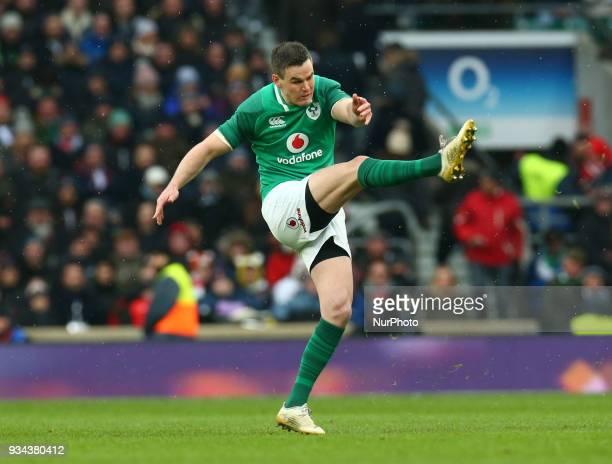 Ireland's Jonathan Sexton during NatWest 6 Nations match between England against Ireland at Twickenham stadium London on 17 Mar 2018