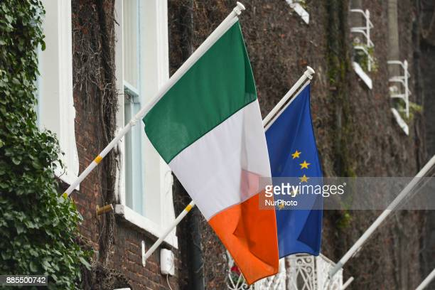 Ireland's prime minister Leo Varadkar statement on Phase I of the Brexit negotiations was postponed as Northern Ireland's DUP expresses doubts about...