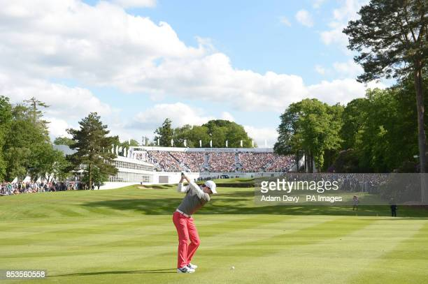 Ireland's Rory McIlroy before winning the BMW PGA Championships at the Wentworth Club Surrey