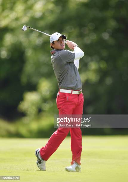 Ireland's Rory McIlroy on day four of the BMW PGA Championships at the Wentworth Club Surrey