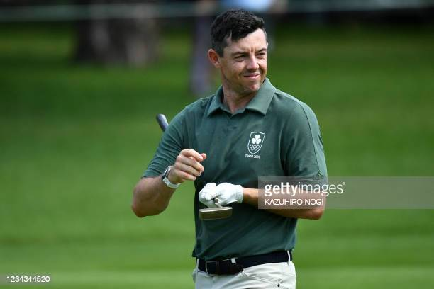 Ireland's Rory Mcilroy walks in round 3 of the mens golf individual stroke play during the Tokyo 2020 Olympic Games at the Kasumigaseki Country Club...