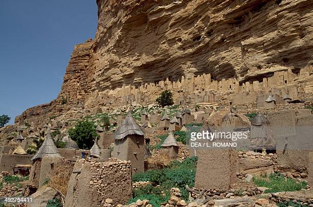 Ireli Dogon village at the Bandiagara Escarpment Mali