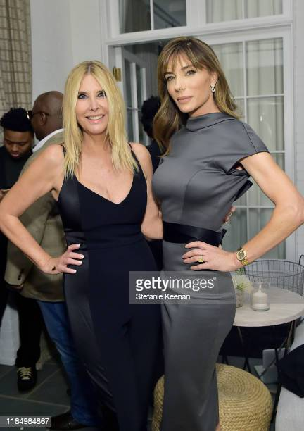 Irena Medavoy and Jennifer Flavin attend A Sense Of Home's First Ever Annual Gala - The Backyard Bowl at a Private Residence on November 01, 2019 in...