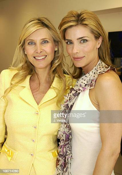 Irena Medavoy and Jennifer Flavin during Martin Katz Luncheon Benefiting American Cinematheque Hosted by Martin Katz and Irenna Medavoy at Martin...