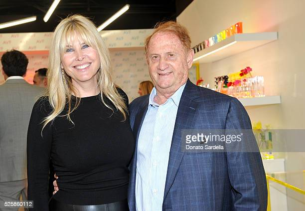 Irena Medavoy and Mike Medavoy attend the opening of the Alexandra Von Furstenberg Los Angeles flagship store on April 28 2016 in West Hollywood...