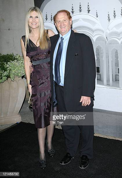 Irena Medavoy and Mike Medavoy during Giorgio Armani Celebrates 2007 Oscars with Exclusive Prive Show at Green Acres Estates in Beverly Hills...