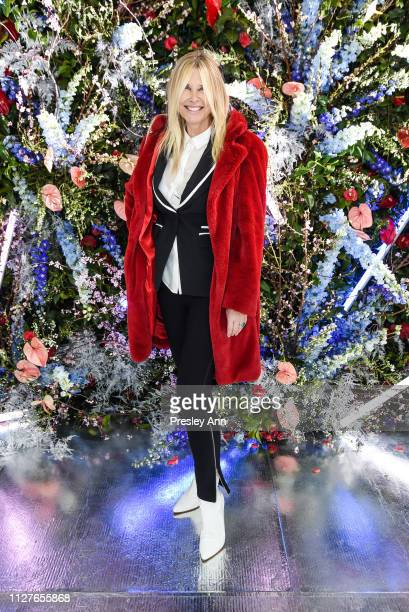 Irena Medavoy attends Rodarte FW19 Fashion Show at The Huntington Library and Gardens on February 05 2019 in San Marino California