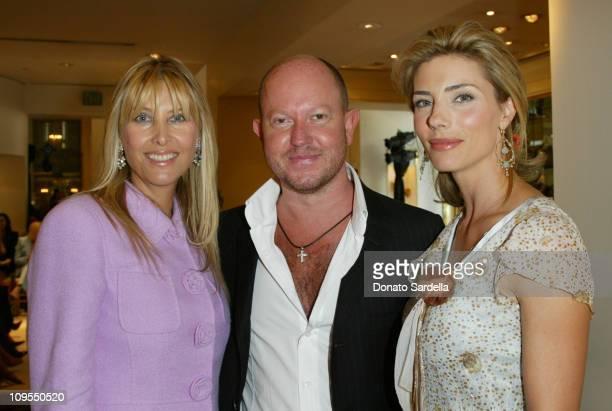 Irena Medavoy Brian Rennie Escada Designer and Jennifer Stallone