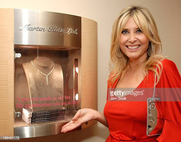 Irena Medavoy during The Black Book of Hollywood Beauty Secrets Debut Party Hosted by Kelly and Martin Katz at Martin Katz Ltd in Los Angeles...