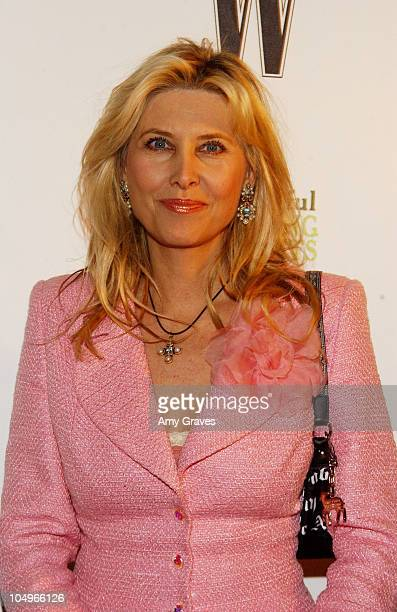 Irena Medavoy during W Magazine Publisher Alyce Alston Hosts Book Launch Party for John Livesay at Private Residence in Bel Air California United...