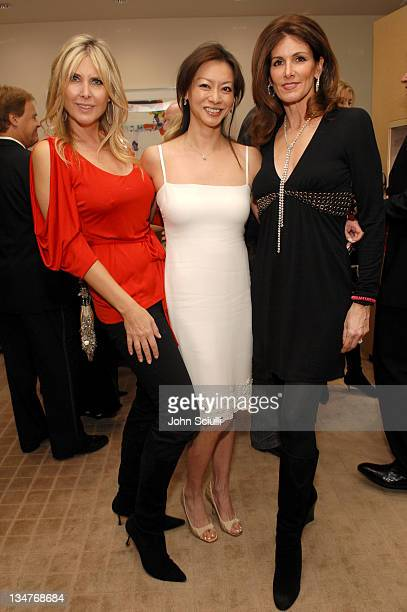 Irena Medavoy Florence Sloane and Kelly Katz during The Black Book of Hollywood Beauty Secrets Debut Party Hosted by Kelly and Martin Katz at Martin...
