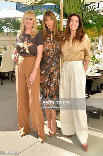 Irena Medavoy, Jennifer Flavin Stallone and Zoe de Givenchy attend Academy Museum of Motion Pictures Luminaries Luncheon Supported by JP Morgan Chase...