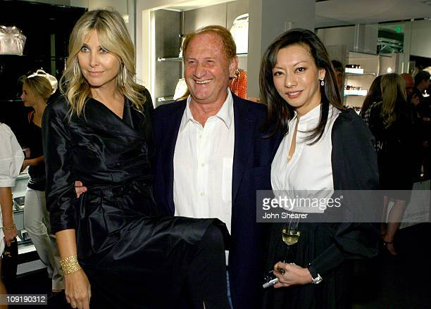 Irena Medavoy Mike Medavoy and Florence Sloan during Yves Saint Laurent Downtown Event April 18 2007 at Yves Saint Laurent Store in Beverly Hills...