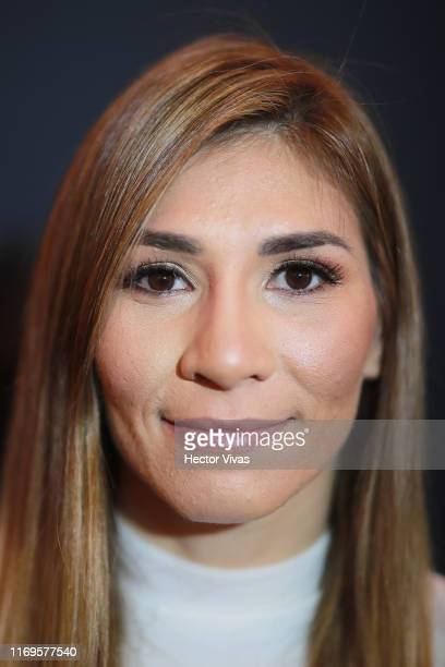 Irene Aldana of Mexico poses during the UFC Fight Night Rodriguez v Stephens Ultimate Media Day on September 19 2019 in Mexico City Mexico
