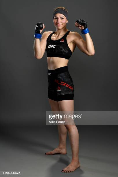 Irene Aldana of Mexico poses for a portrait during the UFC 245 event at TMobile Arena on December 14 2019 in Las Vegas Nevada