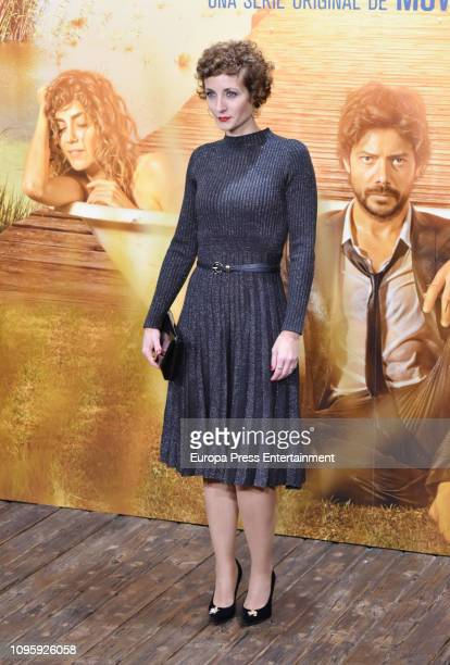 Irene Anula attends the 'El embarcadero' photocall at Callao Cinema on January 17 2019 in Madrid Spain