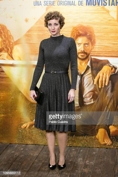 Irene Anula attends the 'El Embarcadero' premiere at Callao Cinema on January 17 2019 in Madrid Spain