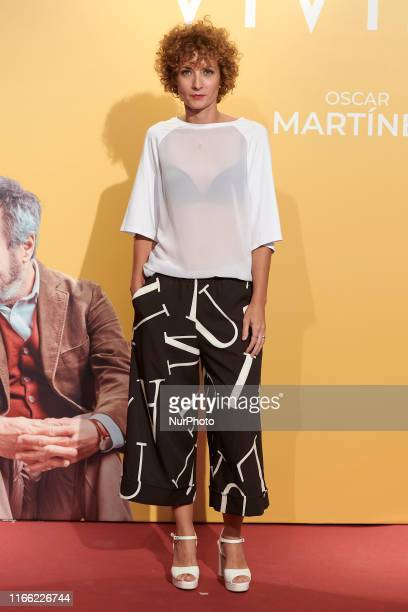 Irene Anula attends the 'Vivir dos veces' premiere at Capitol Cinema in Madrid Spain on Sep 5 2019