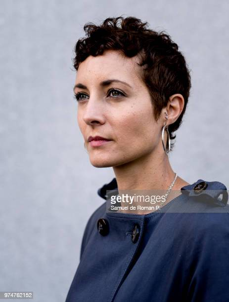 Irene Anula during a portrait session at 'Melia Princesa hotel' on June 8 2018 in Madrid Spain