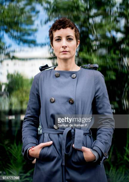 Irene Anula during a portrait session on June 8 2018 in Madrid Spain