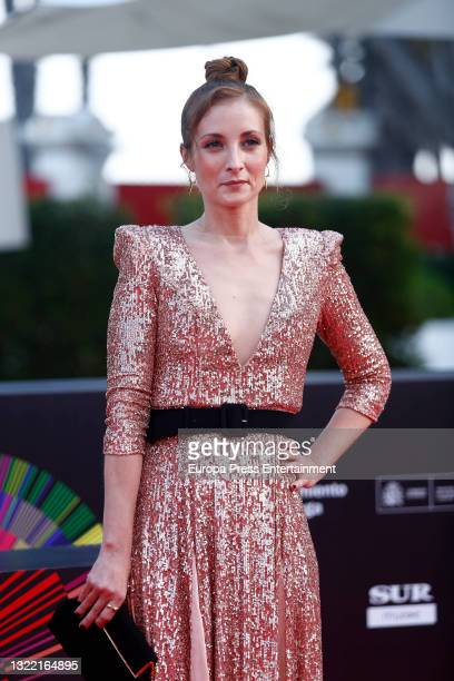 Irene Anula during the premiere of 'Paraiso' at the Malaga Film Festival held at the Miramar Hotel, June 4 in Malaga, Spain.