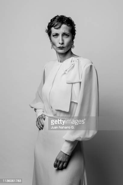 Irene Anula poses for a portrait session at Teatro Cervantes during 22nd Spanish Film Festival of Malaga on March 15 2019 in Malaga Spain