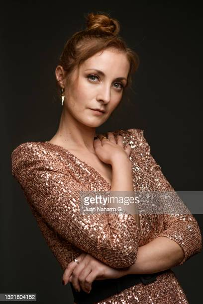 Irene Anula poses for a portrait session during 24th Malaga Spanish Film Festival on June 04, 2021 in Malaga, Spain.