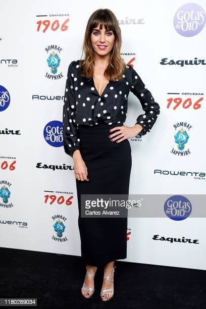 Irene Arcos attends 'Hombres Esquire' 2019 awards at the Kapital Club on October 10 2019 in Madrid Spain