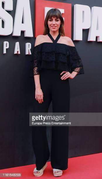 Irene Arcos attends 'La Casa de Papel' Season 3 Premiere at Callao Cinema on July 11 2019 in Madrid Spain
