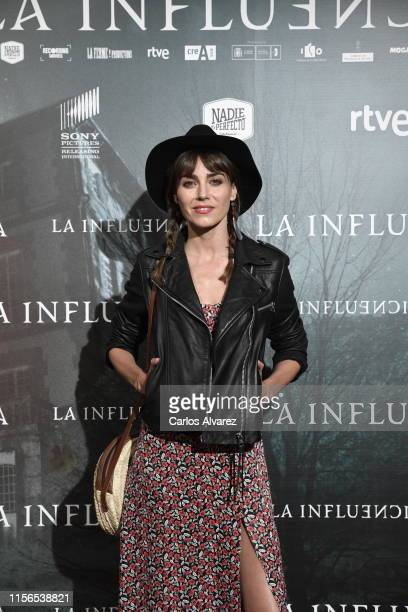 Irene Arcos attends La Influencia photocall at Sony Pictures Headquarters on June 17 2019 in Madrid Spain