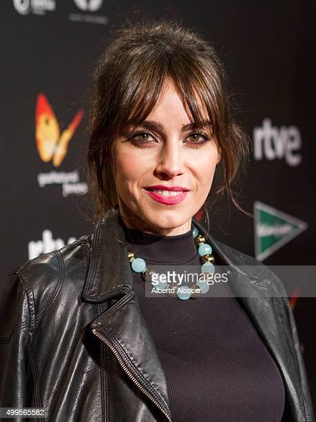 Irene Arcos attends 'La Novia' Madrid Premiere on December 1 2015 in Madrid Spain