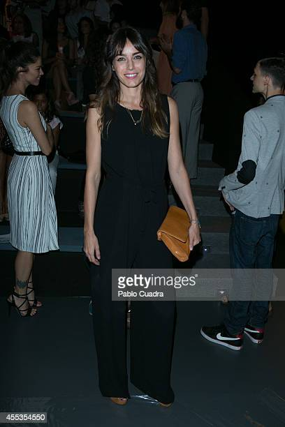 Irene Arcos attends Mercedes Benz Fashion Week Madrid at Ifema on September 13, 2014 in Madrid, Spain.