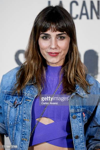 Irene Arcos attends 'Sordo' premiere at the Capitol cinema on September 11 2019 in Madrid Spain