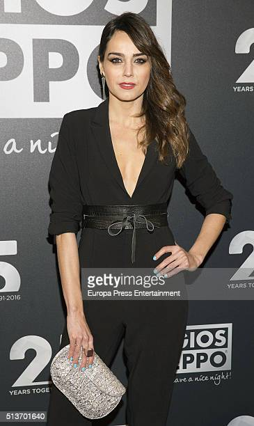 Irene Arcos attends the 'Gioseppo' 25th Anniversary Party on March 3 2016 in Madrid Spain