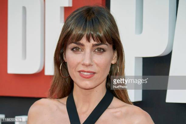 Irene Arcos attends the 'La Casa de Papel' 3rd season premiere at Callao Cinema in Madrid Spain on Jul 11 2019