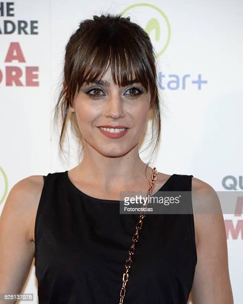 Irene Arcos attends the 'La Noche Que Mi Madre Mato a Mi Padre' premiere at Palacio de la Prensa Cinema on April 27 2016 in Madrid Spain