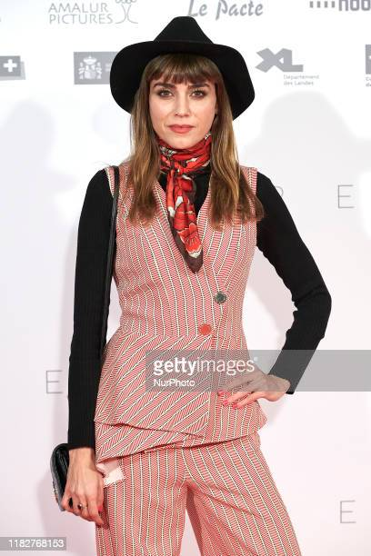 Irene Arcos attends the 'Madre' movie premiere at 'Capitol' cinema in Madrid Spain on Nov 14 2019