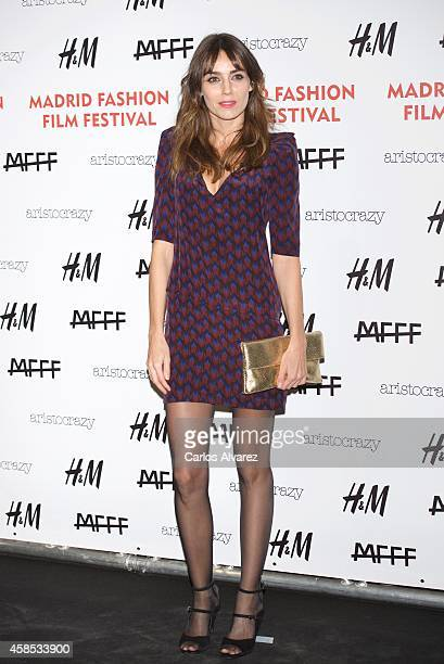 Irene Arcos attends the Madrid Fashion Film Festival photocall at the Cibeles Palace on November 6 2014 in Madrid Spain