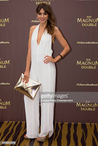 Irene Arcos attends the 'Magnum summer' photocall at Me hotel on June 15 2016 in Madrid Spain