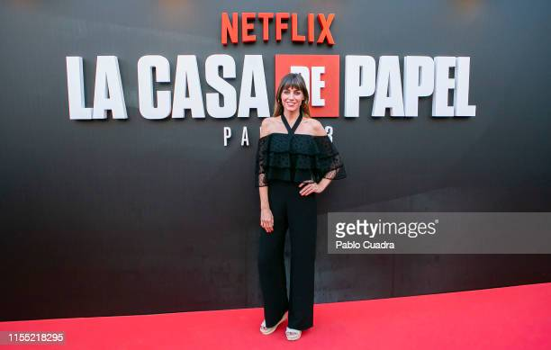 Irene Arcos attends the red carpet of 'La Casa De Papel' 3rd Season by Netflix on July 11 2019 in Madrid Spain