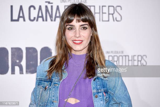 Irene Arcos attends the 'Sordo' movie premiere at Capitol Cinema in Madrid Spain on Sep 11 2019