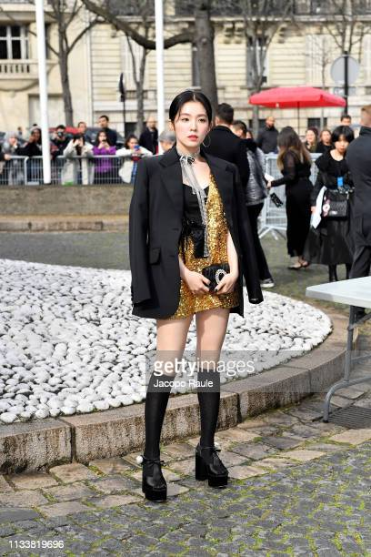 Irene Bae attends the Miu Miu show as part of the Paris Fashion Week Womenswear Fall/Winter 2019/2020 on March 05 2019 in Paris France