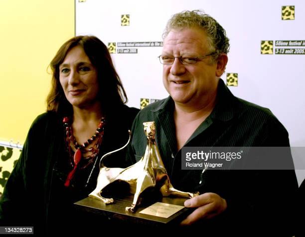 Irene Bignardi president of Filmfestival Locarno and Jeremy Thomas
