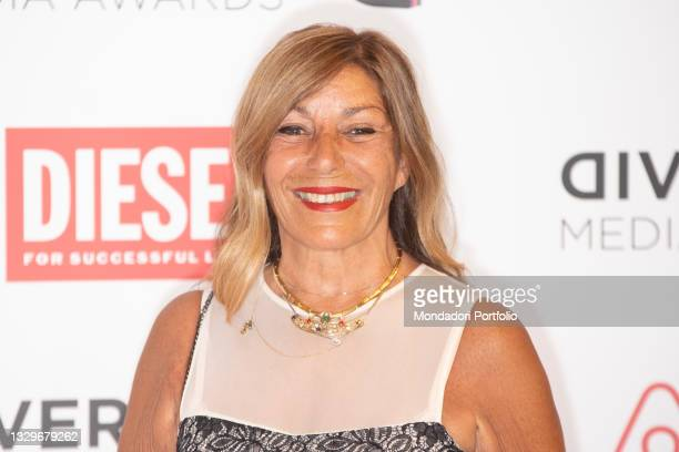 Irene Bozzi attends the red carpet of the Diversity Media Awards 2021. Franco Parenti Theater. Milan , July 19th, 2021