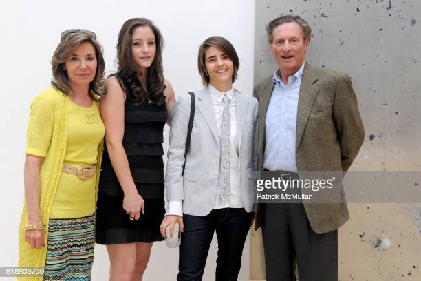 Irene Brant Zelinksy Allison Brant Lindsay Brant and Carl Zelinsky attend THE BRANT FOUNDATION STUDY CENTER Exhibition and Preview of URS FISCHER...